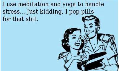 pills yoga
