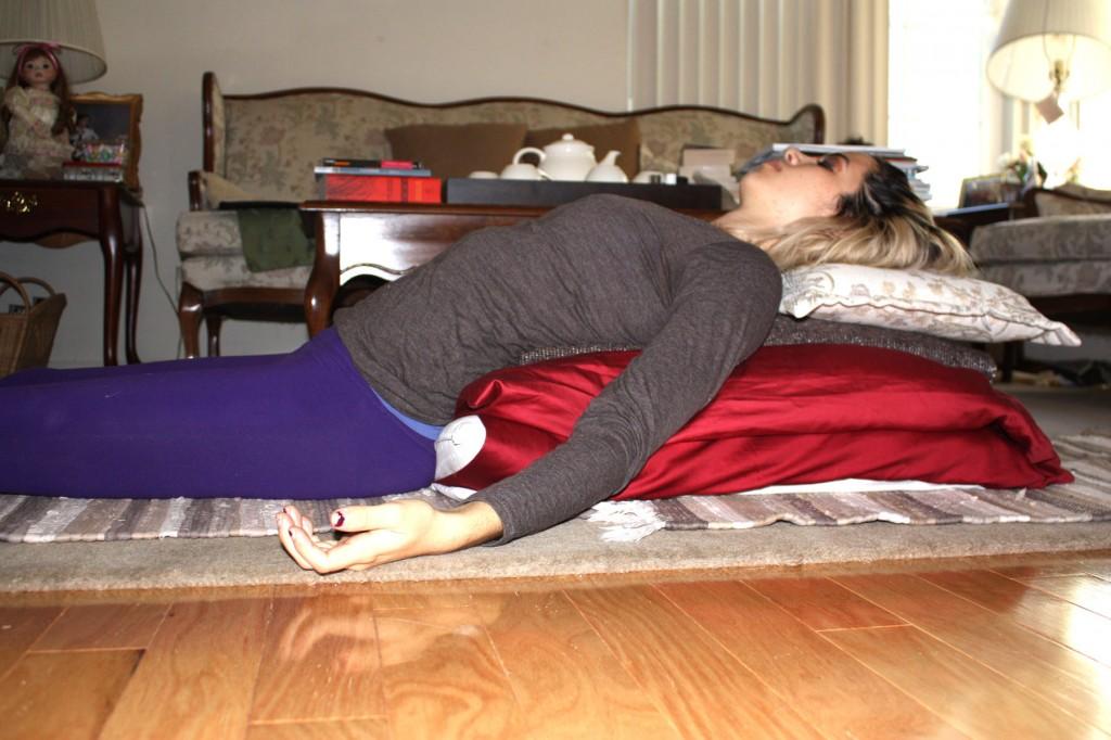 restorative heart opener pillows