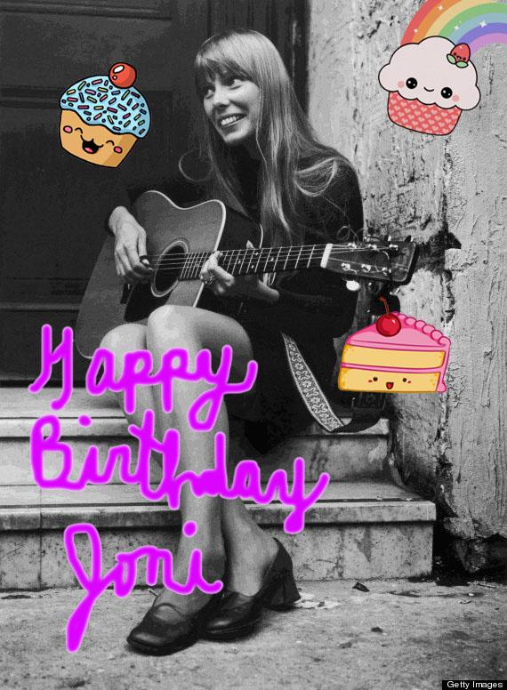 happy birthday joni
