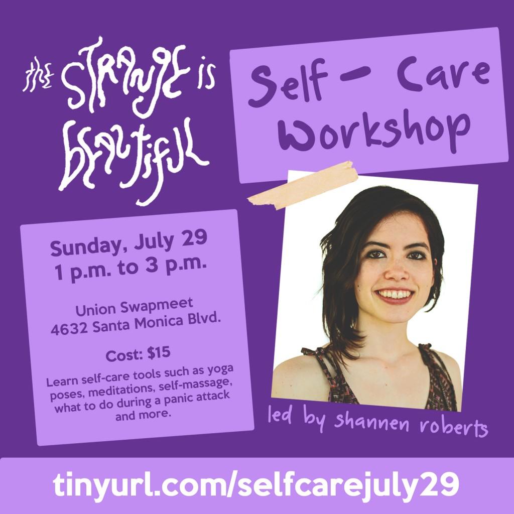 self care wkshp
