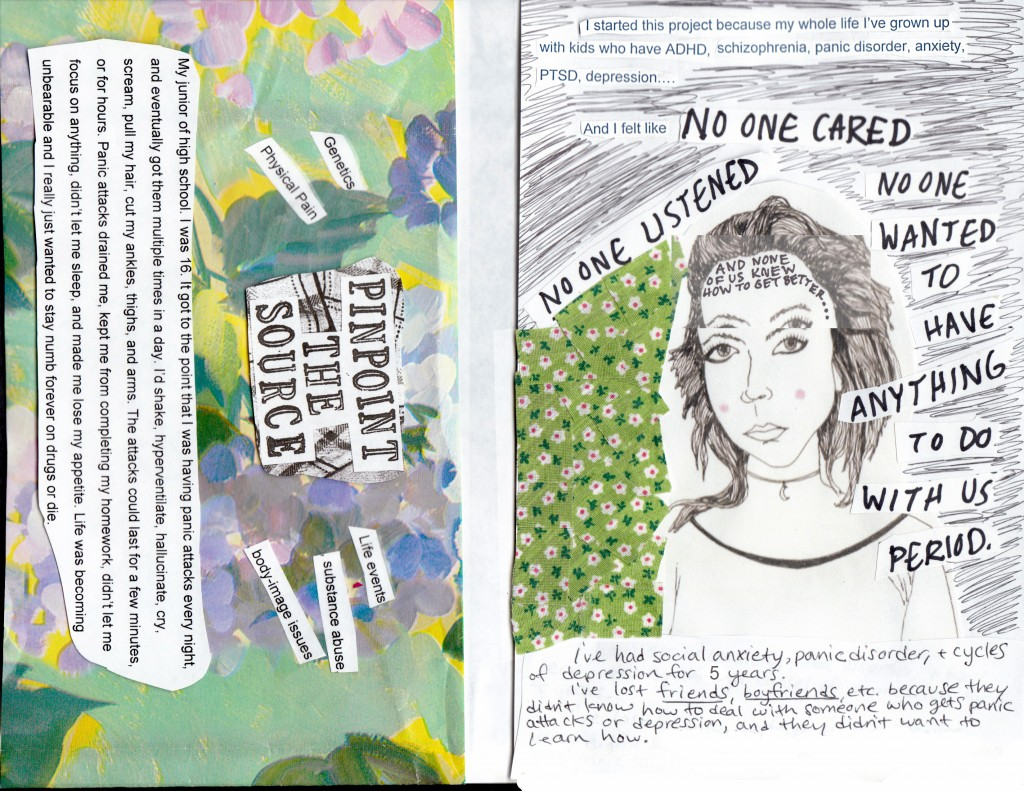 shannen cover and back zine