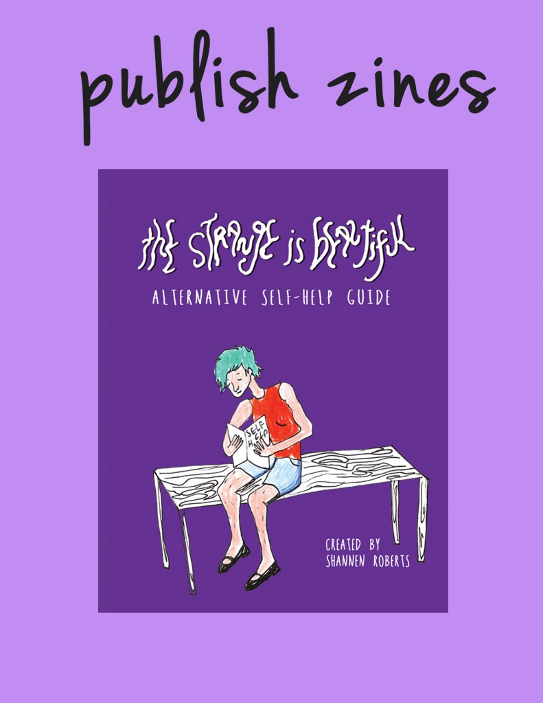 publish zines