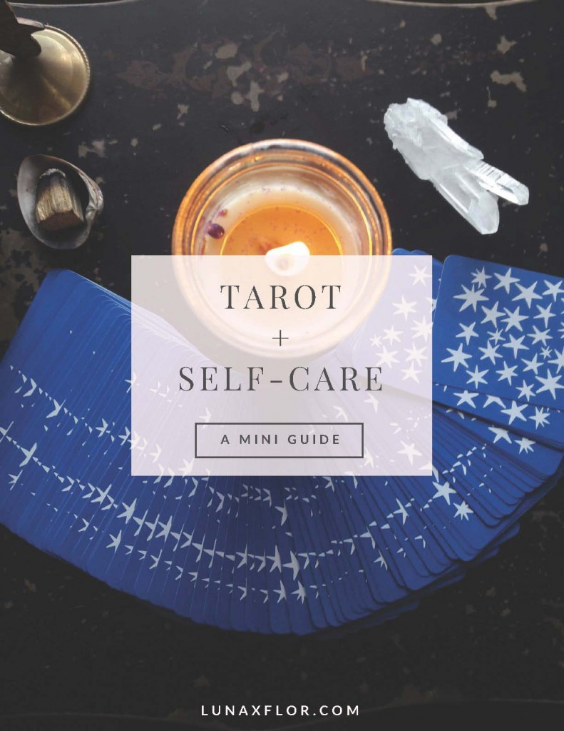 Pages from Tarot & Self-Care Mini Guide